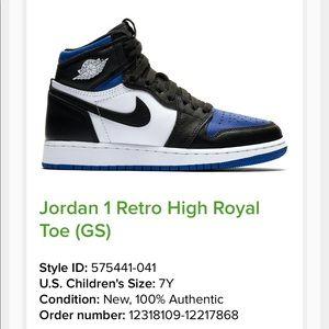 Jordan 1s retro